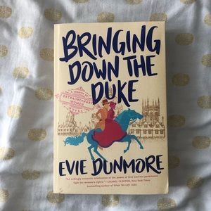 BOOK Bringing Down the Duke, novel by Evie Dunmore